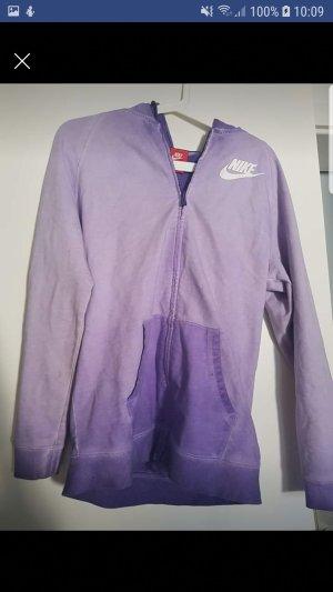Nike Oversized Jacket purple