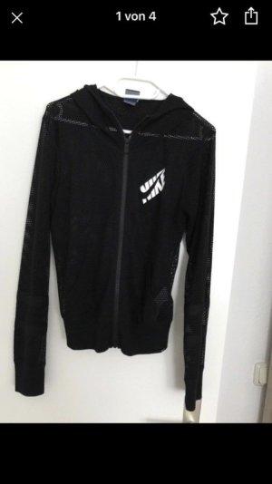 Nike Chaqueta deportiva negro-blanco
