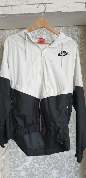 Nike Sportjack wit-zwart