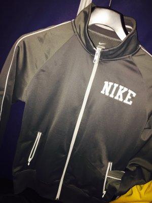 Nike Jacke grau weiß