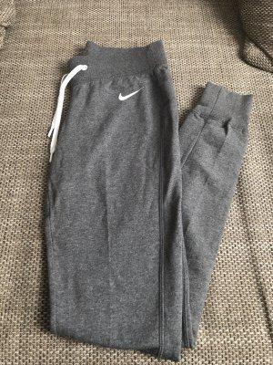 Nike Pantalon de jogging argenté-blanc