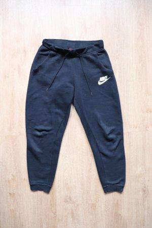 Nike Pantalon de jogging noir-blanc