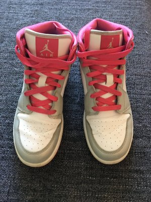 Nike Jordans Pink/Glitzer