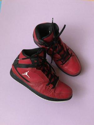 Nike Jordans Rot Schwarz