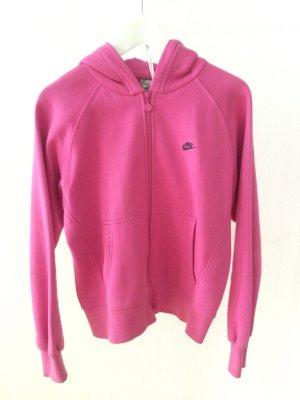 Nike Fleece jack neonroos