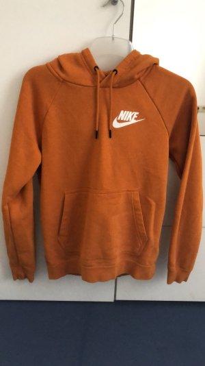 Nike Pull à capuche orange