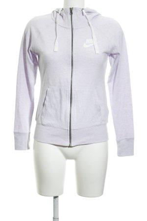 Nike Jersey con capucha malva look casual