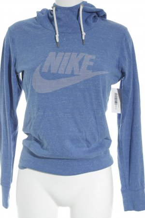Nike Kapuzenpullover blau-blassblau sportlicher Stil