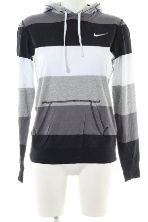 Nike Kapuzenshirt Streifenmuster Casual-Look