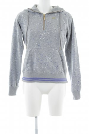 Nike Kapuzensweatshirt Allover-Druck Casual-Look
