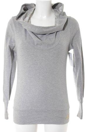 Nike Kapuzensweatshirt hellgrau-goldfarben Casual-Look