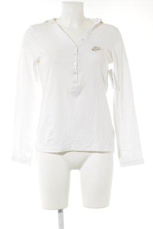 Nike Kapuzensweatshirt weiß sportlicher Stil