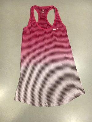 Nike Kleid pink rosa gestreift S
