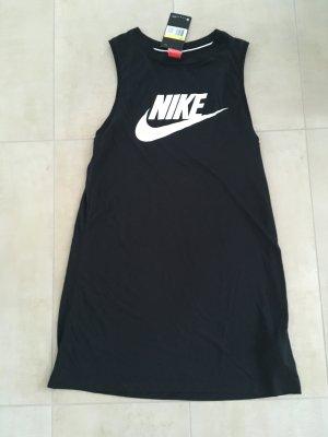 Nike Kleid Top Longtop Größe S schwarz weiß