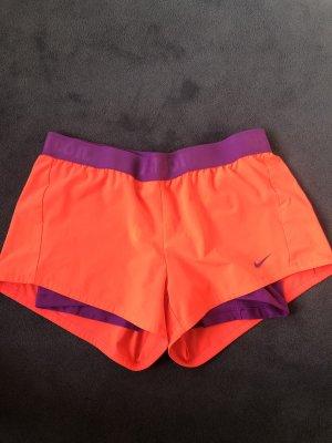 Nike Pantalone da ginnastica lilla-fucsia neon