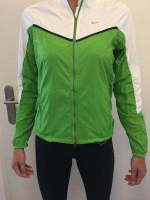 Nike Sports Jacket white-green