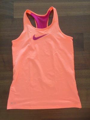 Nike Laufshirt DRI-FIT organe/pink