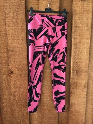 Nike Pantalon de sport noir-rose
