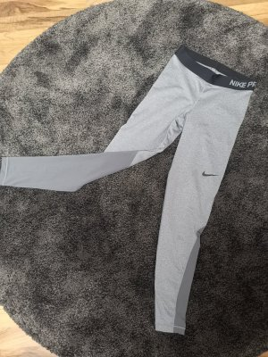 Nike Leggings Damen grau/ schwarz