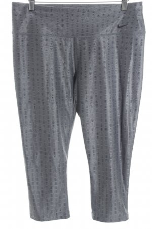 Nike Leggings grey-black spot pattern athletic style