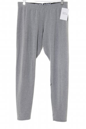 Nike Leggings light grey printed lettering casual look