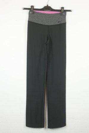 Nike Leggings Sporthose Gr. XS schwarz grau
