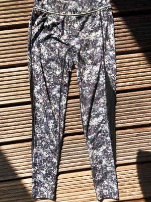 Nike Pantalone da ginnastica multicolore Cotone