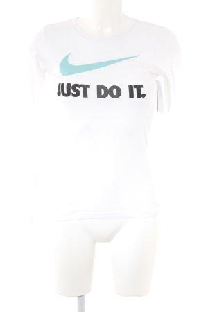 Nike Longsleeve Schriftzug gedruckt schlichter Stil