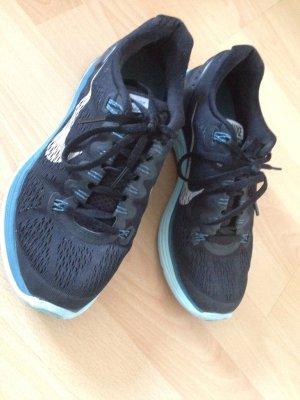 Nike Sneakers met veters zwart-blauw
