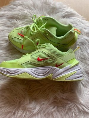 Nike Sneaker stringata verde neon-rosso