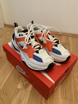 Nike M2K Tekno orange Blue white