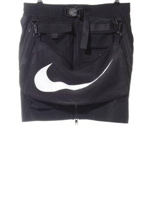 Nike Minirock schwarz-weiß extravaganter Stil