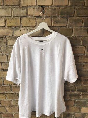 Nike Oversized shirt wit-zwart
