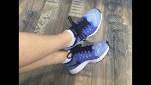 NIKE PEGASUS Laufschuhe Sportschuhe Sneakers GR. 36,5 blau