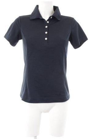 Nike Polo-Shirt dunkelblau klassischer Stil