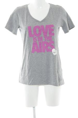 Nike Print-Shirt meliert Casual-Look