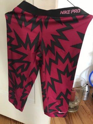 Nike Sportbroek grijs-roze