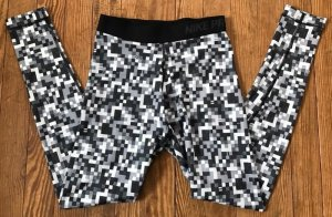 Nike Pro Hose Leggins Sporhose Sport Damen XS schwarz grau tight 34 neu