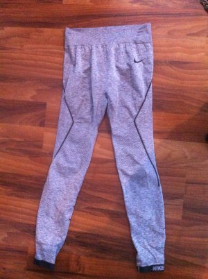 Nike Leggings silver-colored polyamide