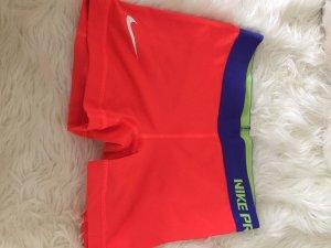 Nike Pro Sport Shorts Neon