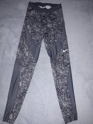 Nike Pro Sportleggins Tights gemustert atmungsaktiv