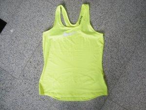 Nike Pro Tank Top Shirt Training Sport Running neongelb Gr. L / 42 Neu NP: 35€