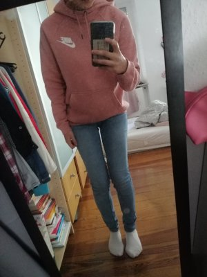 Nike Hooded Shirt pink