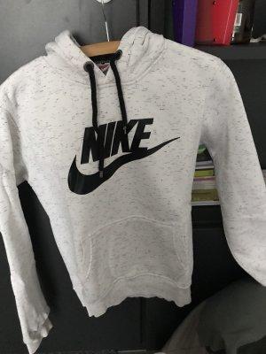 Nike Capuchon sweater licht beige-zwart