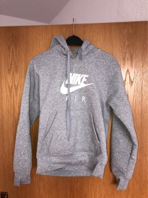 Nike Hooded Sweater white-grey