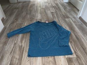 Nike Sweatshirt neon blauw