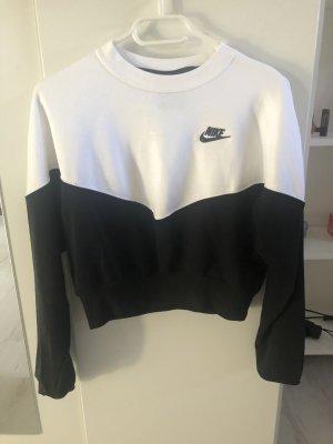 Nike Kasjmier trui zwart-wit