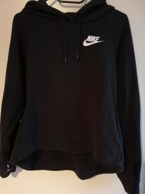 Nike Hooded Sweater white-black