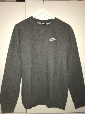 Nike Maglione girocollo grigio-bianco