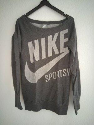 Nike Pullover grau weiß Sport